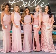 472eb02fd Vestido para dama de honor color rosa 🌹🌹🎀 - Foro Moda Nupcial ...