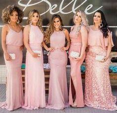 1cbe095b4 Vestido para dama de honor color rosa 🌹🌹🎀 - Foro Moda Nupcial ...