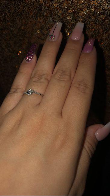 Hubiera elegido otro anillo de compromiso: ¿V o F? 2