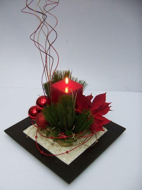 Centros de mesa para diciembre foro bodas - Centro de mesa navideno ...