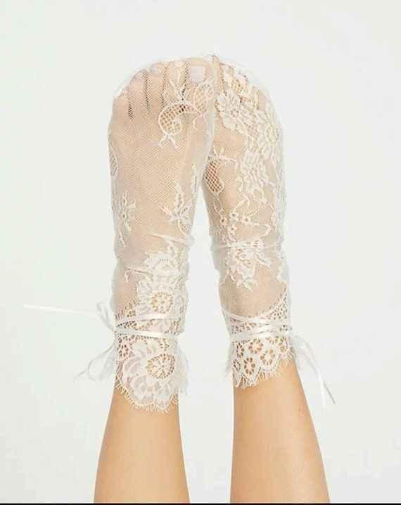 Calcetines para novia!! - 2