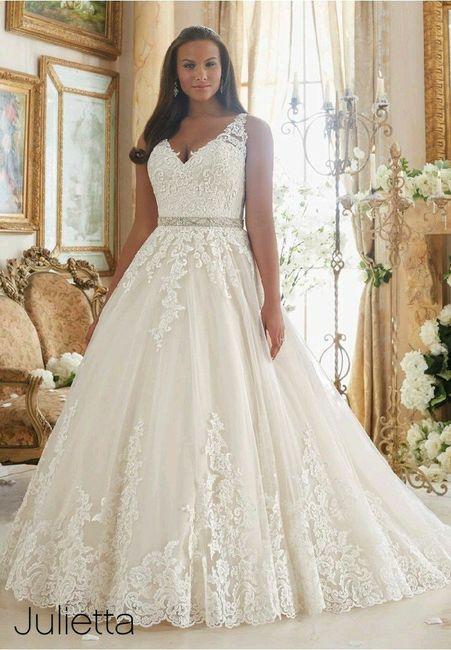 vestidos de novia talla grande - foro moda nupcial - bodas.mx