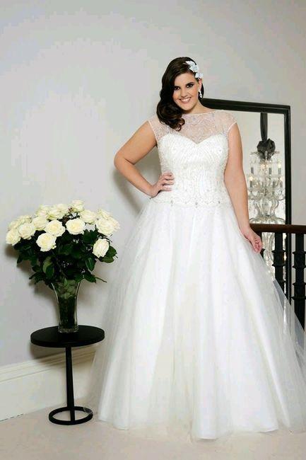 5ca21a6ac Vestidos de novia talla grande - Foro Moda Nupcial - bodas.com.mx