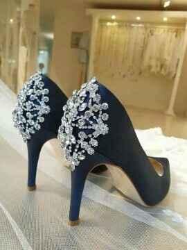 Zapatillas de color para la novia? - 1