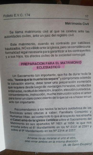 Oracion Matrimonio Catolico : De mucha ayuda folleto de preparación para el matrimonio