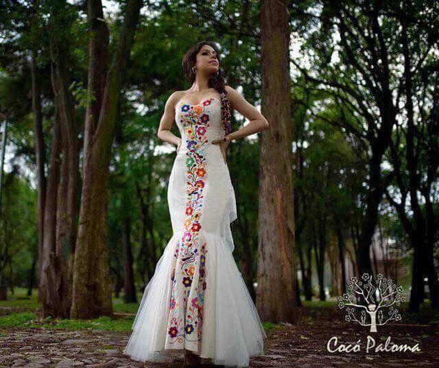 👗 vestidos de novia para boda estilo mexicana 🇲🇽 - foro moda