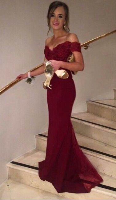 Vestidos para boda rojos