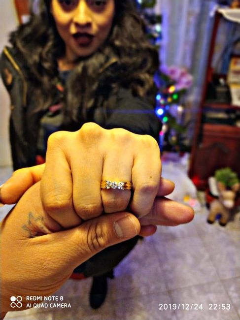 ¿Verdad que el anillo de compromiso si es lo mejor del mundo? 5