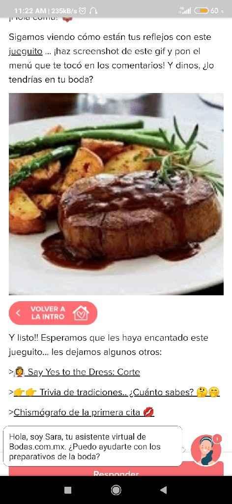 Haz screenshot y descubre tu menu - 1