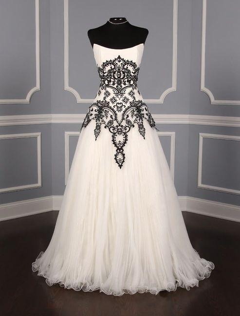 ¿Ustedes se casarían con un vestido negro? 2