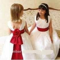 Vestidos de pajes para boda de noche