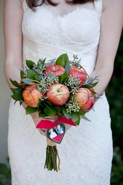 Ramos de novia diferentes 15