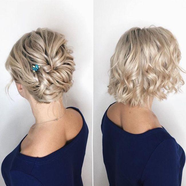 Querida brides, ayúdenme a elegir peinado! 1