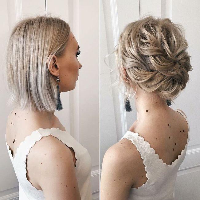 Querida brides, ayúdenme a elegir peinado! 4