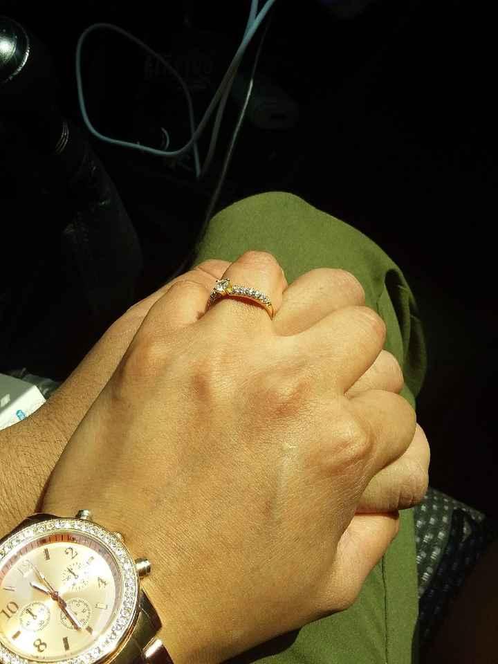 Martes de ... ¡muestren su foto favorita con su anillo de compromiso! - 1