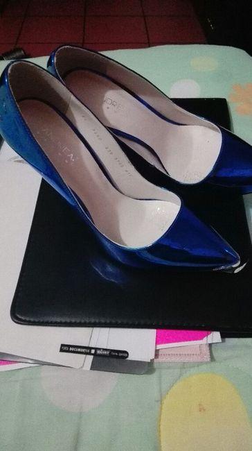 Zapatillas azul metalico - Foro Moda Nupcial - bodas.com.mx 88eecdc83952