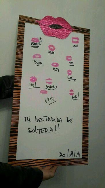 Despedida de soltera besos y firmas foro antes de la for Besos en la oficina 2