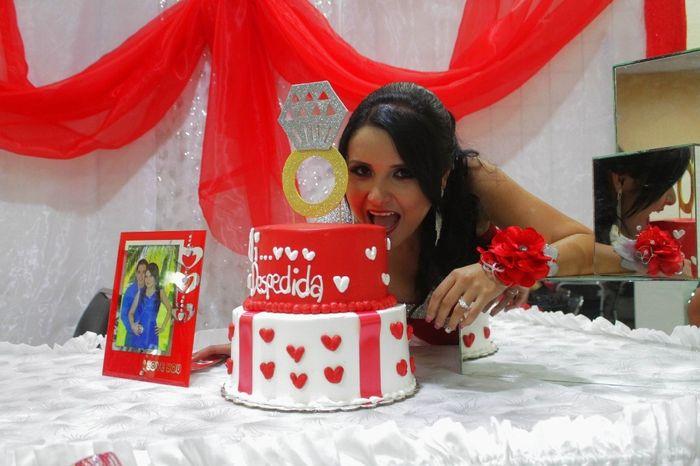 estaba riquisimo el pastel!!