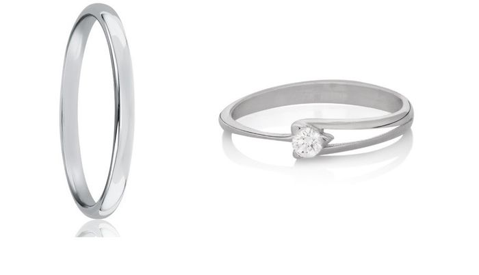 💍 TIPS para combinar tu anillo de compromiso y tu alianza 💍 1
