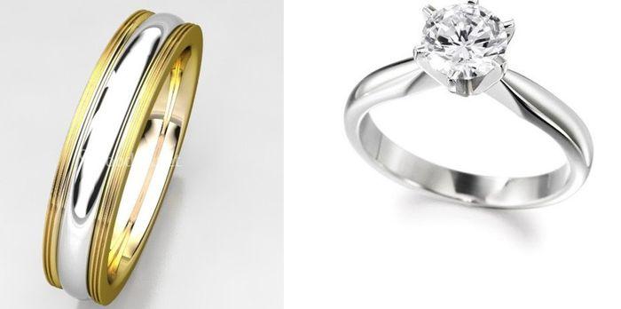 💍 TIPS para combinar tu anillo de compromiso y tu alianza 💍 2
