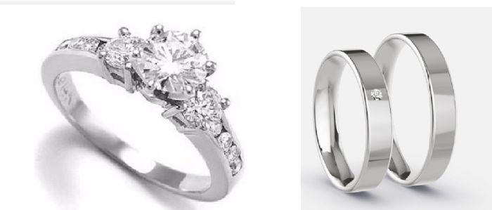 💍 TIPS para combinar tu anillo de compromiso y tu alianza 💍 3