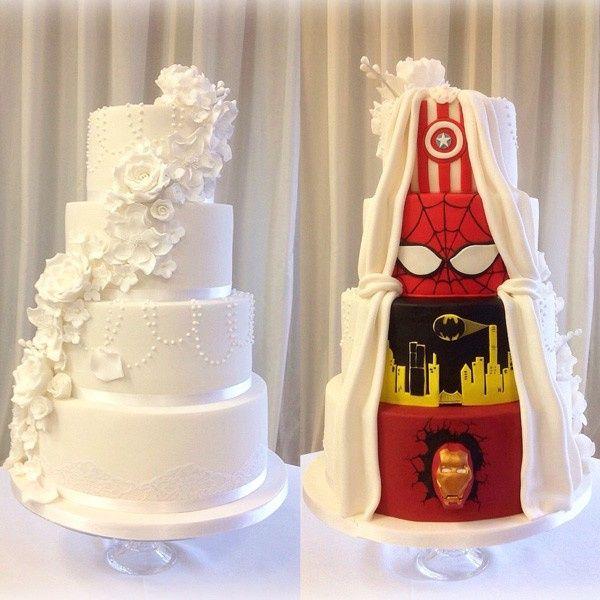 ¡Este pastel es la solución para las bodas temáticas! 1