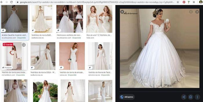 """[JUEGO] Si Googleas """"Vestido de novia""""... 1"""