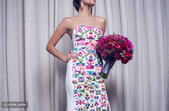 ¿Consideras que tu vestido tendrá algún elemento revolucionario? - 1