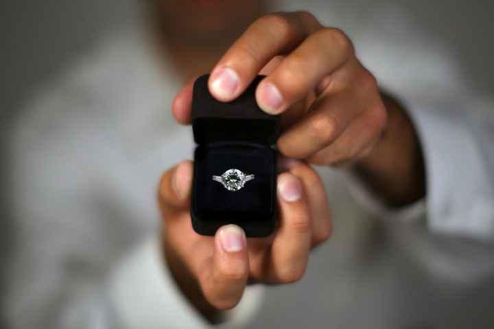 ¿Cuántos 💍... si te pide la mano con un anillo de la familia? - 1