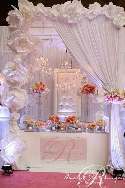 Flores gigantes para decoracion foro organizar una boda for Adornos para bodas con plantas