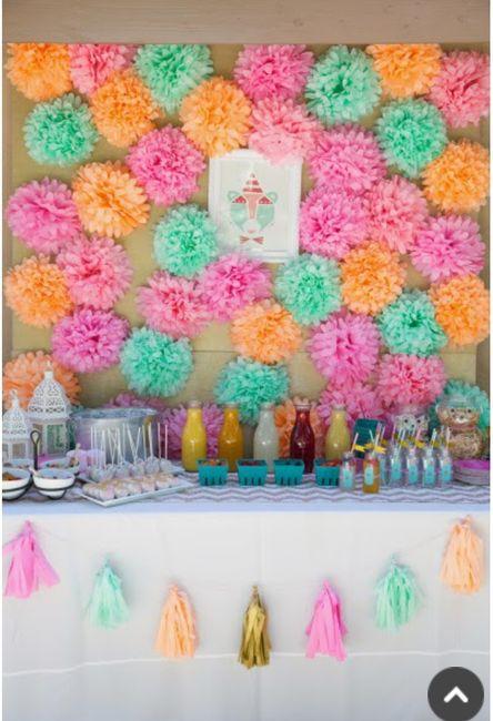 5 ideas para decorar tu boda con pompones de seda 2 - Decorar tu boda ...