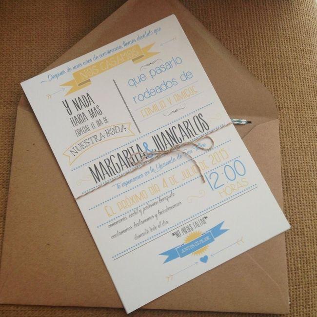 Ideas diy para las invitaciones de tu boda foro - Como hacer una boda diferente ...