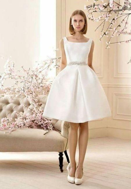 Vestidos de novia boda civil mercadolibre