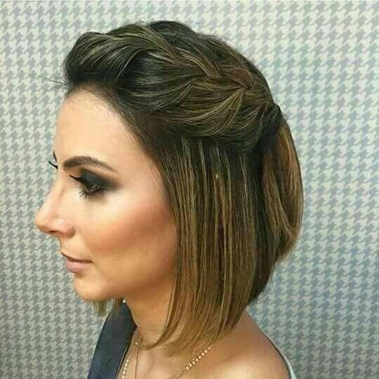 Peinados para boda cabello corto