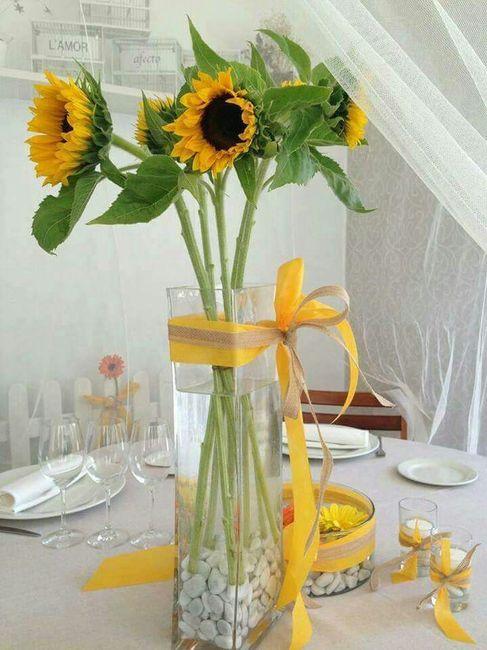 Decoraci n con girasoles foro manualidades para bodas - Foro decoracion ...
