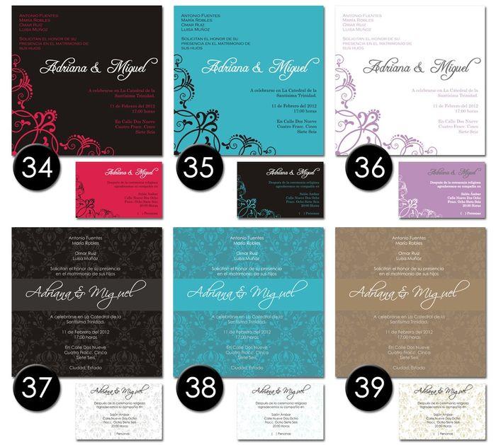 Modelos de invitaciones listas para imprimir!! 4