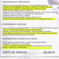 Presupuesto fotografía y video! - 1