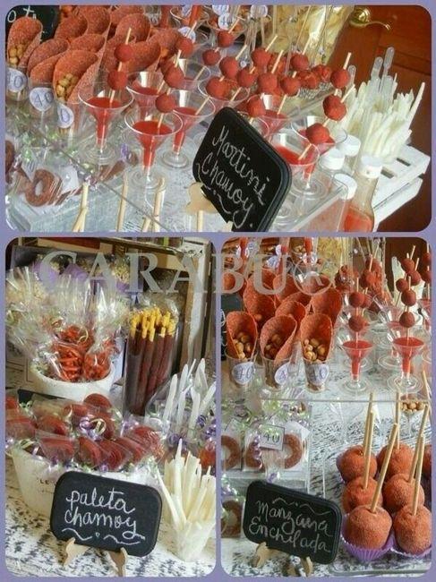 Mesa de dulces que prefieres foro organizar una boda - Como organizar una mesa dulce ...