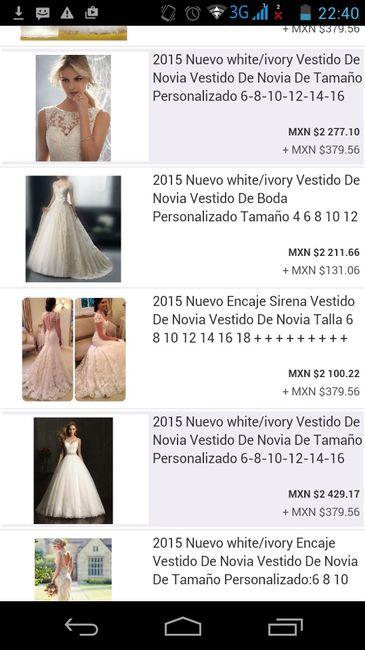 Ebay es vestidos de novia