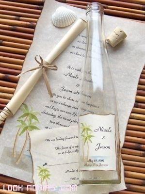 Ideas de invitaciones/ boda en la playa 31