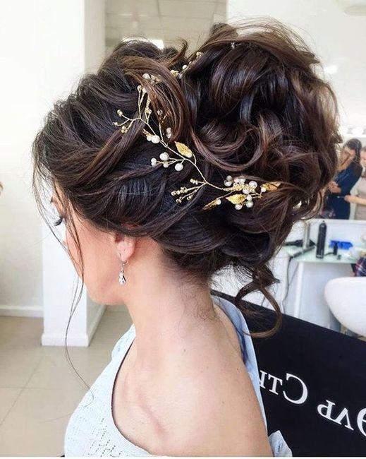 Peinados recogidos para novias 16