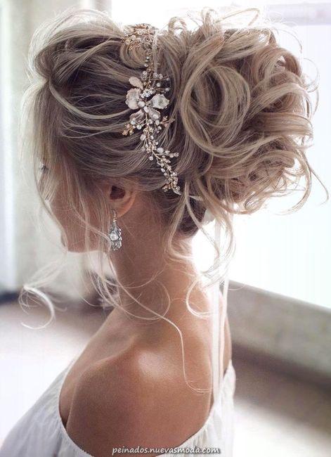 Peinados recogidos para novias 17
