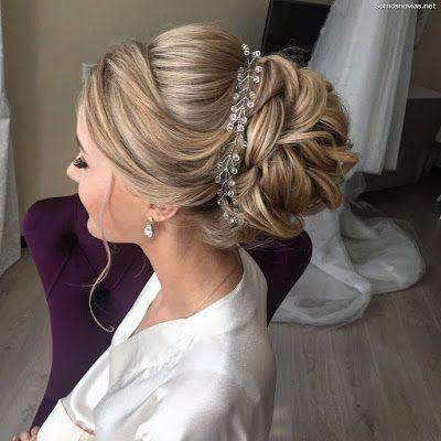 Peinados recogidos para novias 18