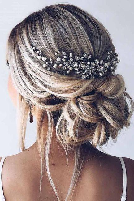 Peinados recogidos para novias 19