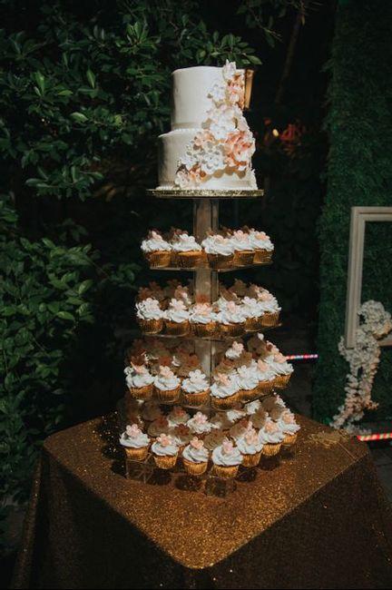 Pastel de cupcakes!! 2