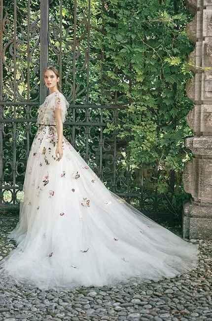 Vestidos colección otoño 2020 Monique Lhuillier - 1