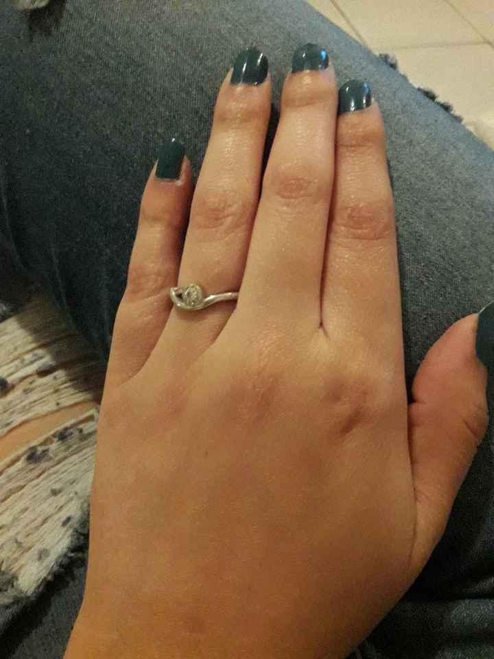 Comparte una foto de tu anillo de compromiso - 1