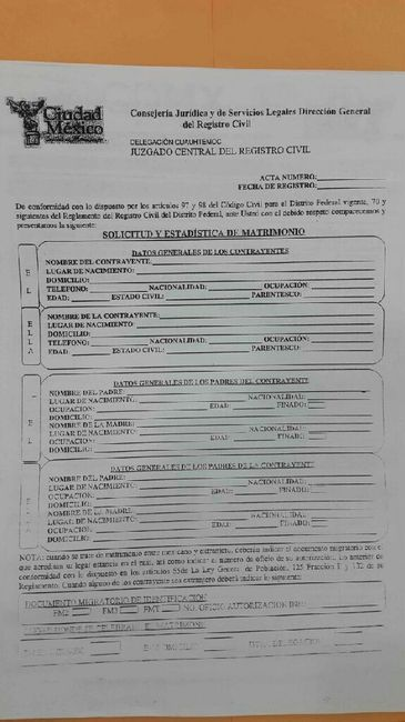 Requisitos boda civil arcos de belén - cdmx - Foro Bodas.com.mx ...