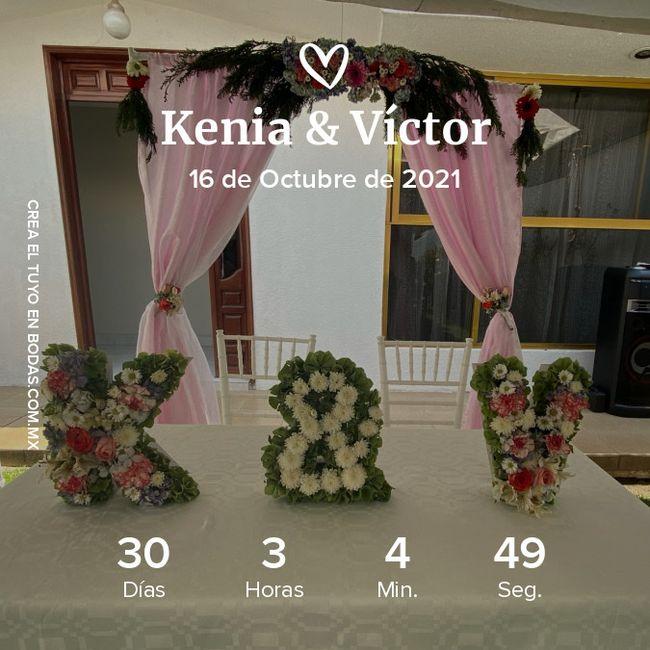 ¡A un mes de la boda! 1