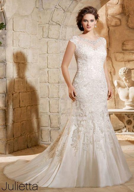 venta barata del reino unido nuevo diseño Super descuento Vestidos para novias curvy - Foro Moda Nupcial - bodas.com.mx